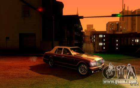 Bentley Arnage R 2005 for GTA San Andreas back view