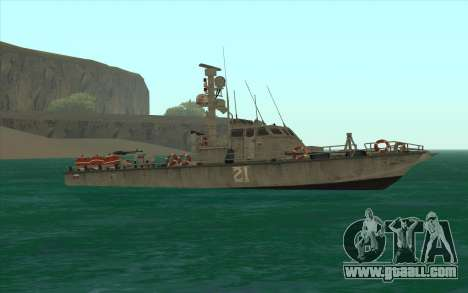 Military boat from CODMW3 for GTA San Andreas