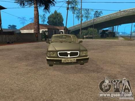 GAZ 3110 v 2 for GTA San Andreas back left view