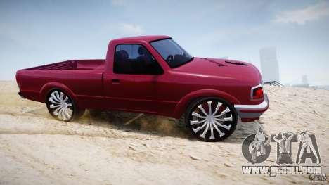Ford Ranger for GTA 4 inner view