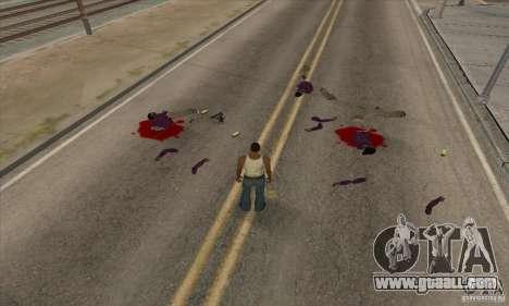 GTA SA Real ragdoll for GTA San Andreas
