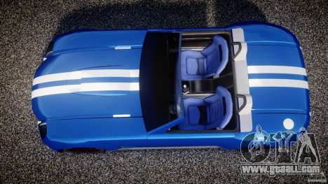 Ford Shelby Cobra Concept for GTA 4 right view