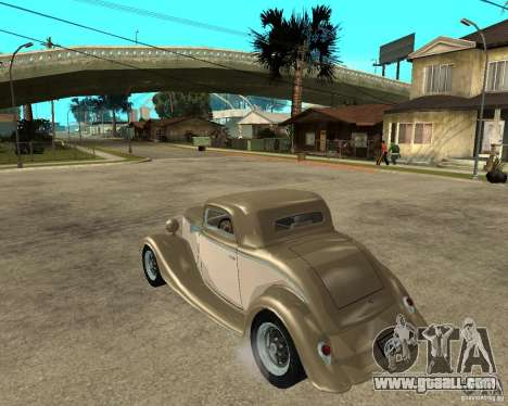 Ford 1934 Coupe v2 for GTA San Andreas left view