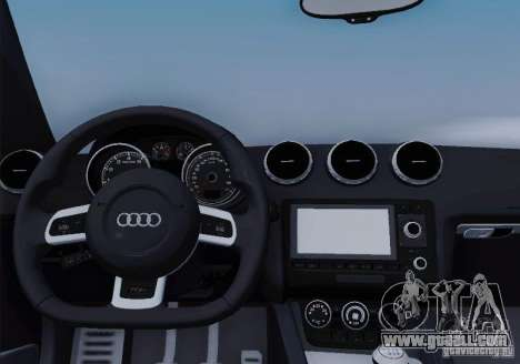 Audi TT-RS Coupe for GTA San Andreas engine