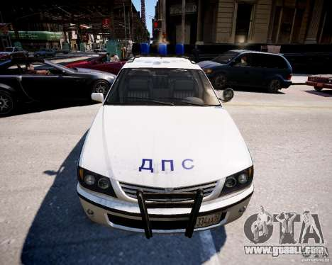 Russian Police Patrol for GTA 4 right view