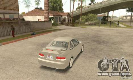 Honda Civic 1998 for GTA San Andreas left view