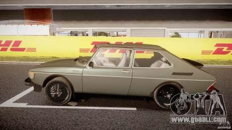 SAAB 99 Turbo 1978 for GTA 4 left view
