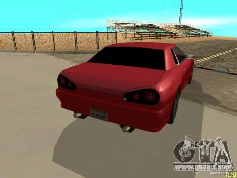 Elegy By w1LD for GTA San Andreas left view