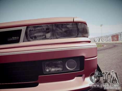Mitsubishi Galant 1992 JDM for GTA San Andreas inner view