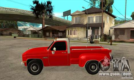 GMC 454 PICKUP for GTA San Andreas left view