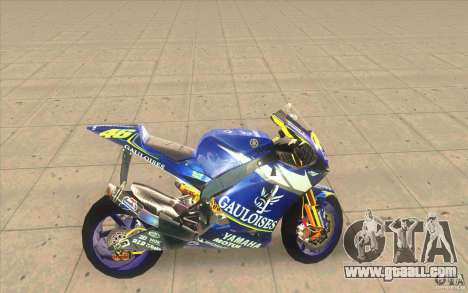 Yamaha M1 Rossi for GTA San Andreas left view