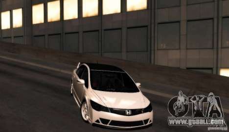 Honda Civic JDM for GTA San Andreas back left view