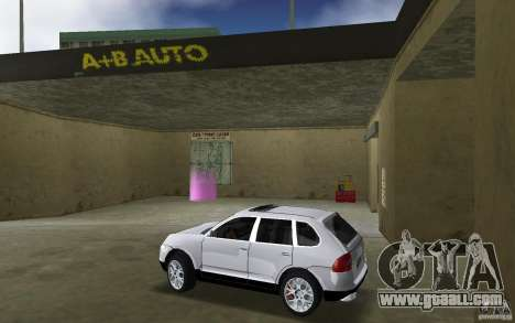 Porsche Cayenne for GTA Vice City left view