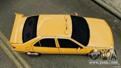 Peugeot 406 Taxi for GTA 4 right view