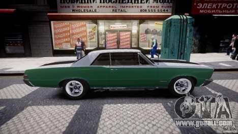 Pontiac GTO 1965 v3.0 for GTA 4 side view