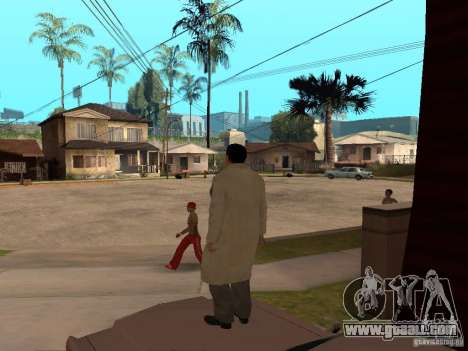 Joe Barbaro of Mafia 2 for GTA San Andreas third screenshot