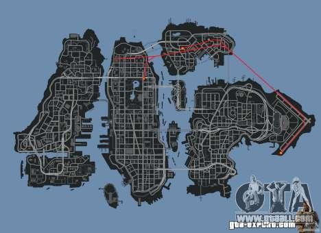 New Map Mod for GTA 4 seventh screenshot