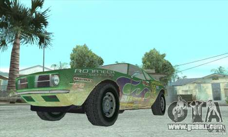 Speedevil from FlatOut for GTA San Andreas inner view
