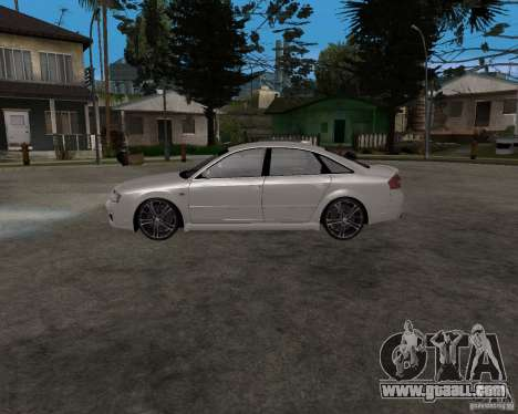 Audi RS6 (A6) for GTA San Andreas left view