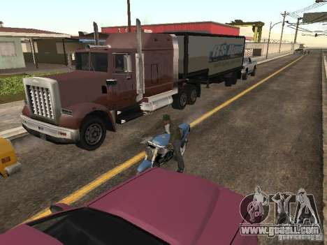 Cars with trailers for GTA San Andreas second screenshot