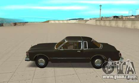 Chrysler Le Baron 1978 for GTA San Andreas left view