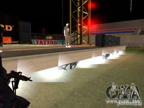 Concert of the AK-47 for GTA San Andreas tenth screenshot