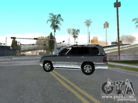 Toyota Land Cruiser 100 VX for GTA San Andreas left view