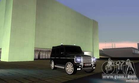 Mercedes Benz G500 ART FBI for GTA San Andreas