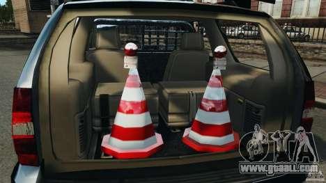 Chevrolet Tahoe LCPD SWAT for GTA 4 upper view
