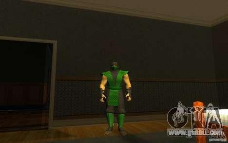Retro Reptile mk for GTA San Andreas second screenshot