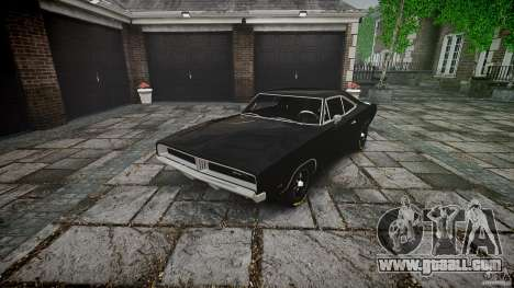 Dodge Charger RT 1969 for GTA 4 side view