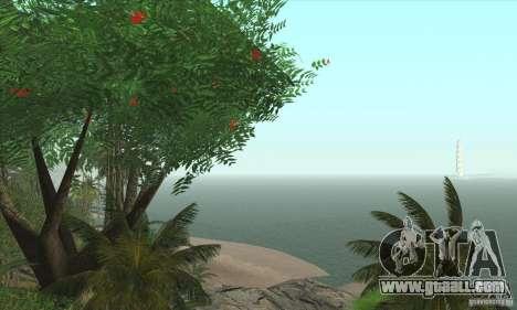 Tropical island for GTA San Andreas