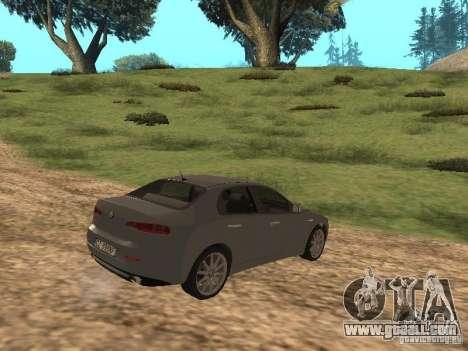 Alfa Romeo 159Ti for GTA San Andreas right view