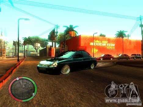 Lada Priora Dag Style for GTA San Andreas
