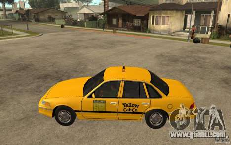 Ford Crown Victoria Taxi 1992 for GTA San Andreas left view