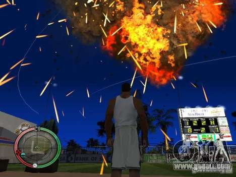 RAIN OF BOXES for GTA San Andreas eighth screenshot