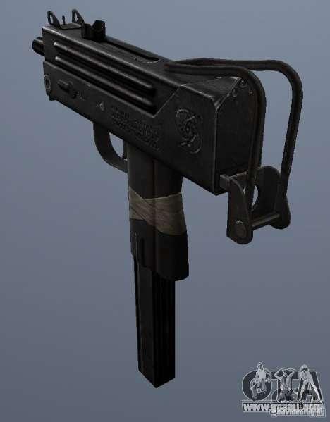 MAC10 for GTA San Andreas second screenshot