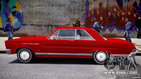 Ford Mercury Comet 1965 [Final] for GTA 4 side view