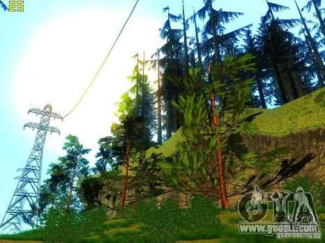 Perfect vegetation v. 2 for GTA San Andreas eighth screenshot