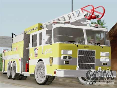 Pierce Arrow XT BCFD Tower Ladder 4 for GTA San Andreas