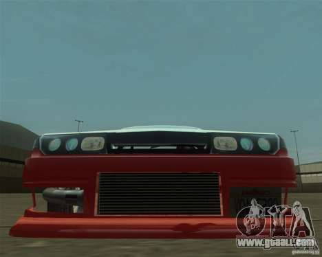 Nissan Cefiro A31 (D1GP) for GTA San Andreas back view