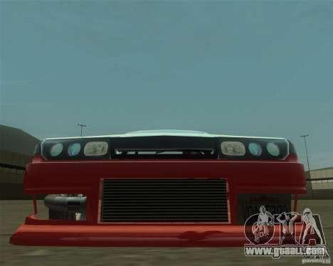 Nissan Cefiro A31 (D1GP) for GTA San Andreas back view