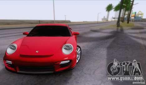 Porsche 911 GT2 for GTA San Andreas inner view