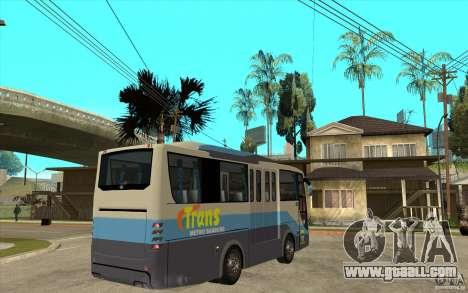 Hino Evo C for GTA San Andreas right view