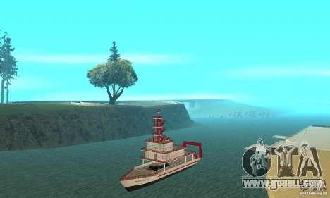 Vice City Ferryboat for GTA San Andreas