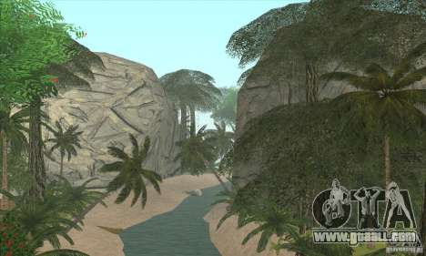 Tropical island for GTA San Andreas second screenshot