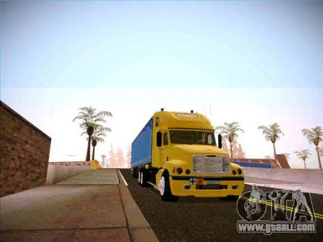 Freightliner Century Classic for GTA San Andreas back view