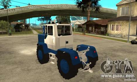 Tractor Cutting for GTA San Andreas back left view