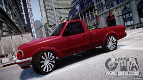 Ford Ranger for GTA 4 left view