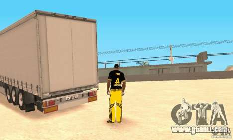 Krone Trailer for GTA San Andreas left view